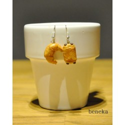 Boucles d'oreilles - Petit pain