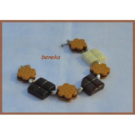 Bracelet bn-choco