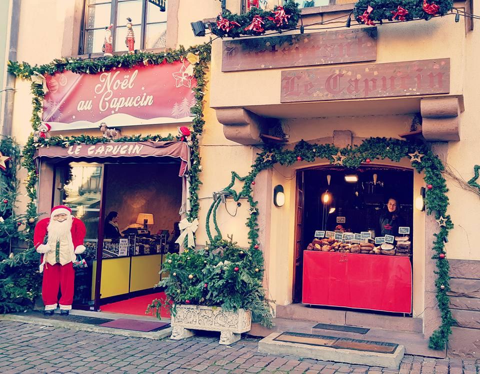 marché de noel au restaurant capucin kaysersberg beneka bijoux