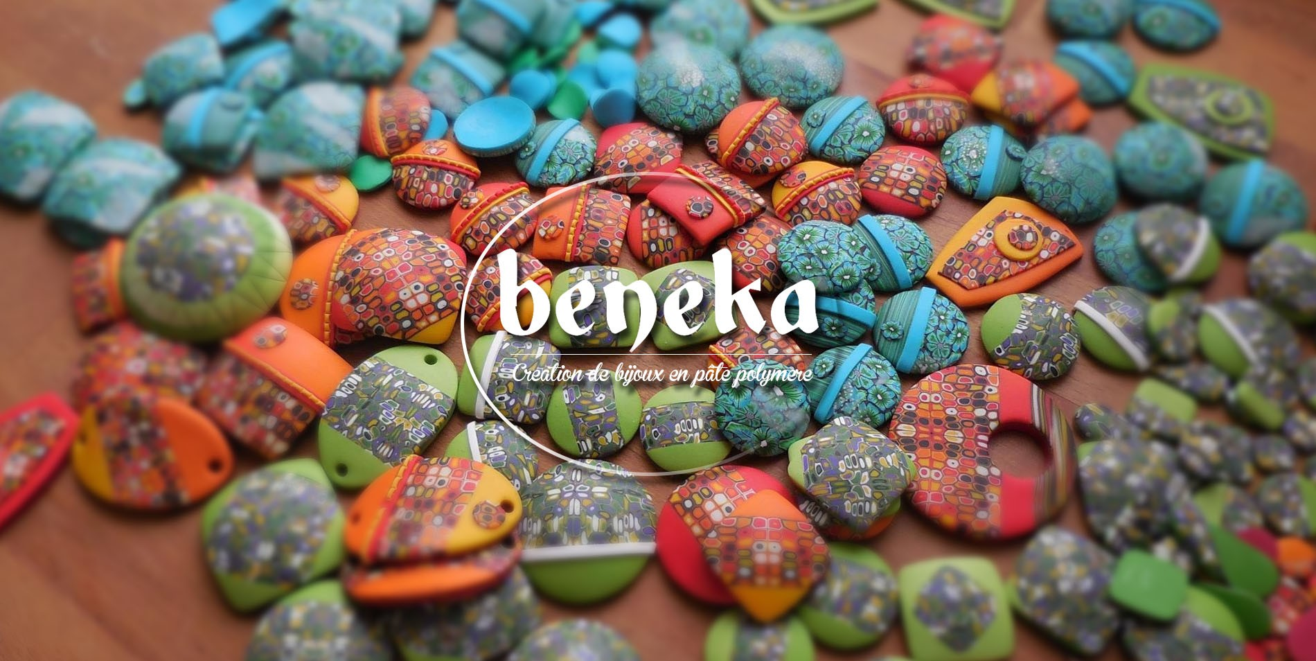 Bijoux Fimo traditionnels et gourmands beneka